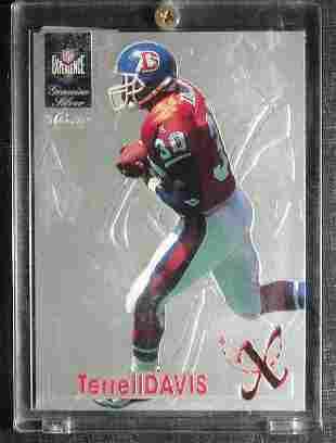 Terrell Davis: Classic Experience Genuine Silver