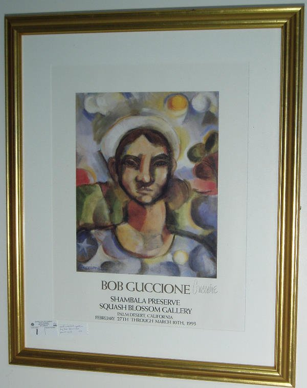 2001: PENCIL SIGNED ART POSTER BY BOB GUCCIONE