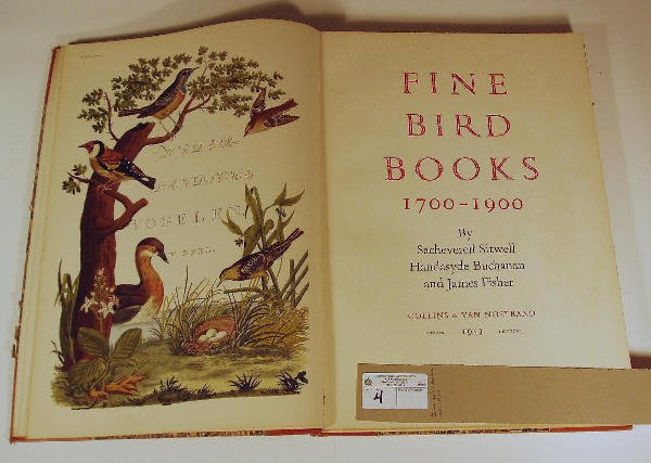 2004: Fine Bird Books 1700-1900 Buchanan & James Fisher