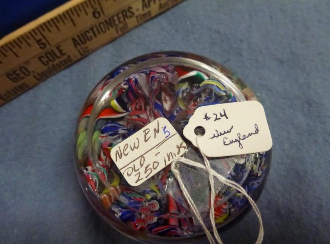 NEW ENGLAND PAPERWEIGHT - 2