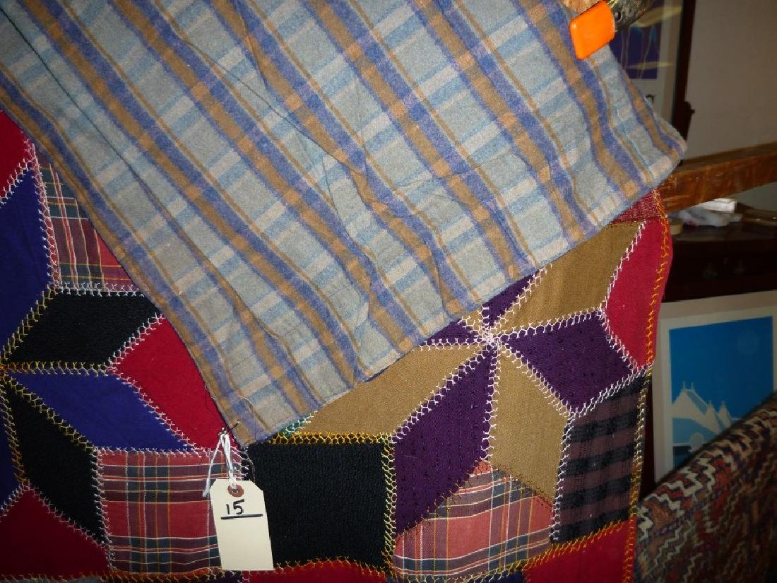 STAR QUILT FLANNEL LINED - 3