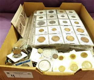 LOT FOREIGN COINS