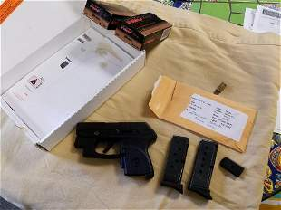 Ruger LCP Model 3713 - .380 With Crimson Trace Laser, 2