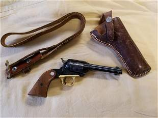 Ruger Bearcat With Leather Belt & Holster