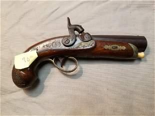 """Engraved """"Philadelphia Derringer"""" Pocket pistol - Has"""