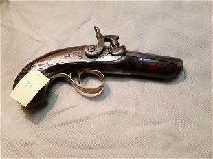 """Engraved """"Philadelphia Derringer"""" Pocket Pistol  -"""