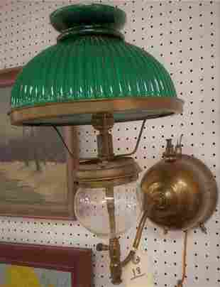 "SHIPS OIL LAMP, ""TILLEY DUROSIT"" #182"