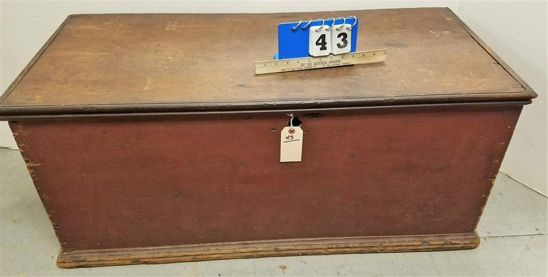 "PRIMITIVE BLANKET BOX - 19""H X 42.5""W X 19.5""D"