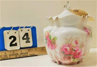 """RS PRUSSIA BISCUIT JAR 7"""""""