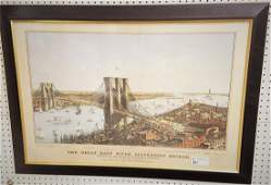 """LMT. ED. REPRINT OF CURRIER & IVES, """"THE GREAT EAST"""