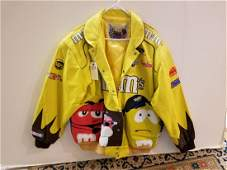 MMS JEFF HAMILTON RACING TEAM LEATHER JACKET XXL
