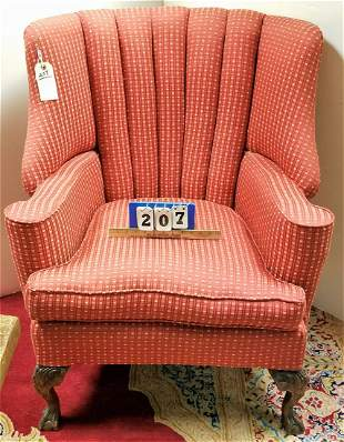 UPHOLS WING CHAIR