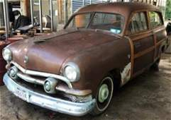 1951 Ford Country Squire Wagon (Woody / Woodie)