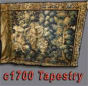 LATE 17th EARLY 18th c. BRUSSELS TAPESTRY, 7