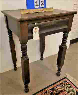 EMPIRE N.Y.S. LEG 1 DRAWER STAND