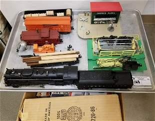 LIONEL TRAIN SET W/ ENGINE #726 + ACCESSORIES