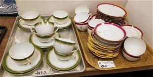 2 TRAYS/ 38PC. LUNCHEON SET + IMPERIAL CROWN
