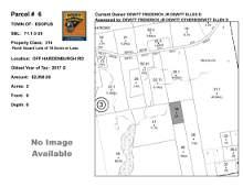 Town of Esopus - SBL: 71.1-3-39 - Off Hardenburgh Road