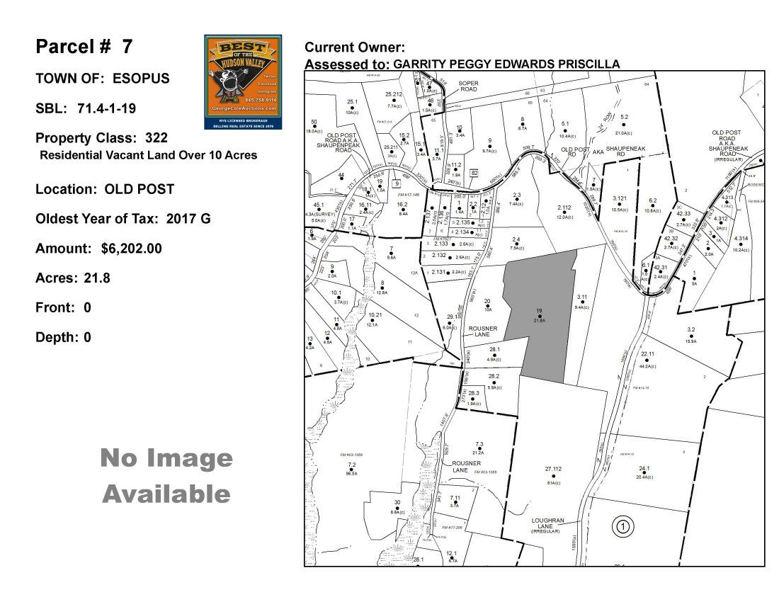 Town of Esopus - SBL: 71.4-1-19 - Old Post