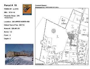 Town of Lloyd - SBL: 87.8-1-6 - 243 Upper North Rd