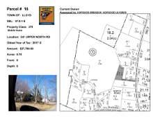 Town of Lloyd - SBL: 87.8-1-8 - 241 Upper North Rd
