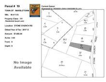 Town of Marbletown - SBL: 46.4-1-23 - Stone Church Rd