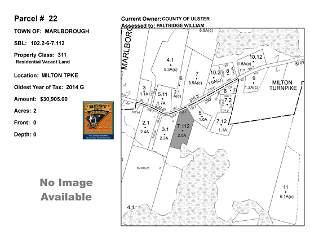 Town of Marlborough - SBL: 102.2-6-7.112 - Milton Tpke