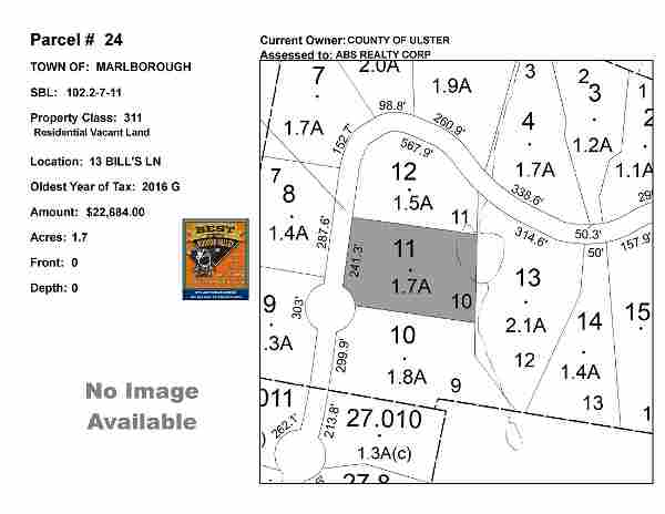 Town of Marlborough - SBL: 102.2-7-11 - 13 Bill