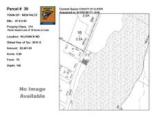 Town of Paltz - SBL: 87.5-3-55 - Plutarch Rd