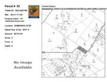 Town of Rochester - SBL: 68.3-1-17.12 - Samsonville Rd
