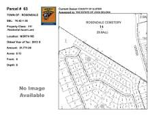 Town of Rosendale - SBL: 70.42-1-35 - North Rd