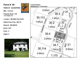 Town of Saug - SBL: 8.2-2-33 - 293 High Falls Rd