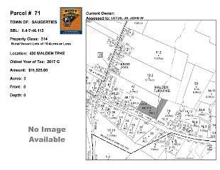 Town of Saug - SBL: 8.4-7-46.112 - 430 Malden Tpke
