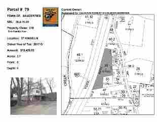 Town of Saug - SBL: 28.4-11-39 - 27 Kings Ln