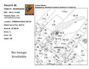 Town of Shawangunk - SBL: 104.2-1-14.3 - Yarwood Rd Off