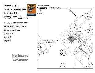 Town of Shawangunk - SBL: 104.2-5-20 - Forest Glen Rd