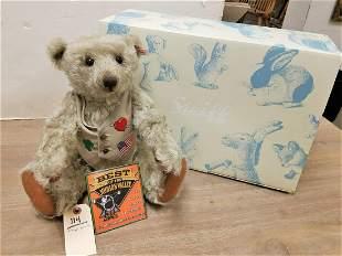 """BX'D STEIFF GROWLER TEDDY BEAR, 16"""""""