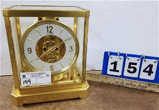"""LE COULTRE ATMOS CLOCK-WORKING 9.25""""H X 8.25""""W X 6.25""""D"""