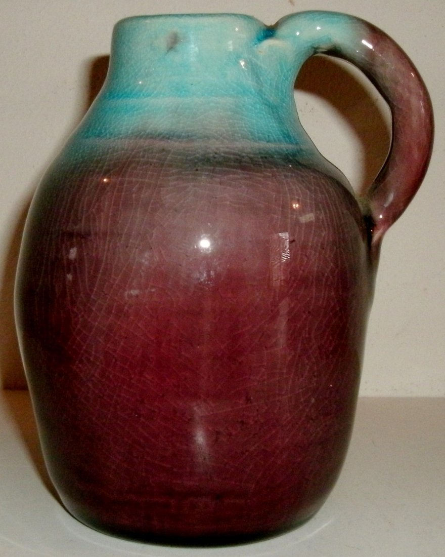 N.C. Pisgah Forest Art Pottery Miniature Stoneware Jug