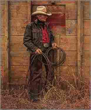 Slim Warren, The Old Cowboy