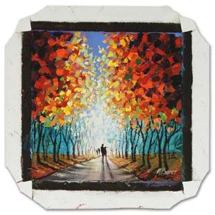 Untitled original acrylic painting on canvas