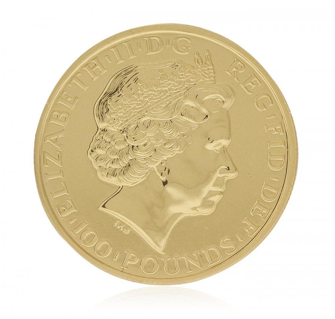 2014 Great Britain 1 Troy Oz .9999 Fine Gold Lunar
