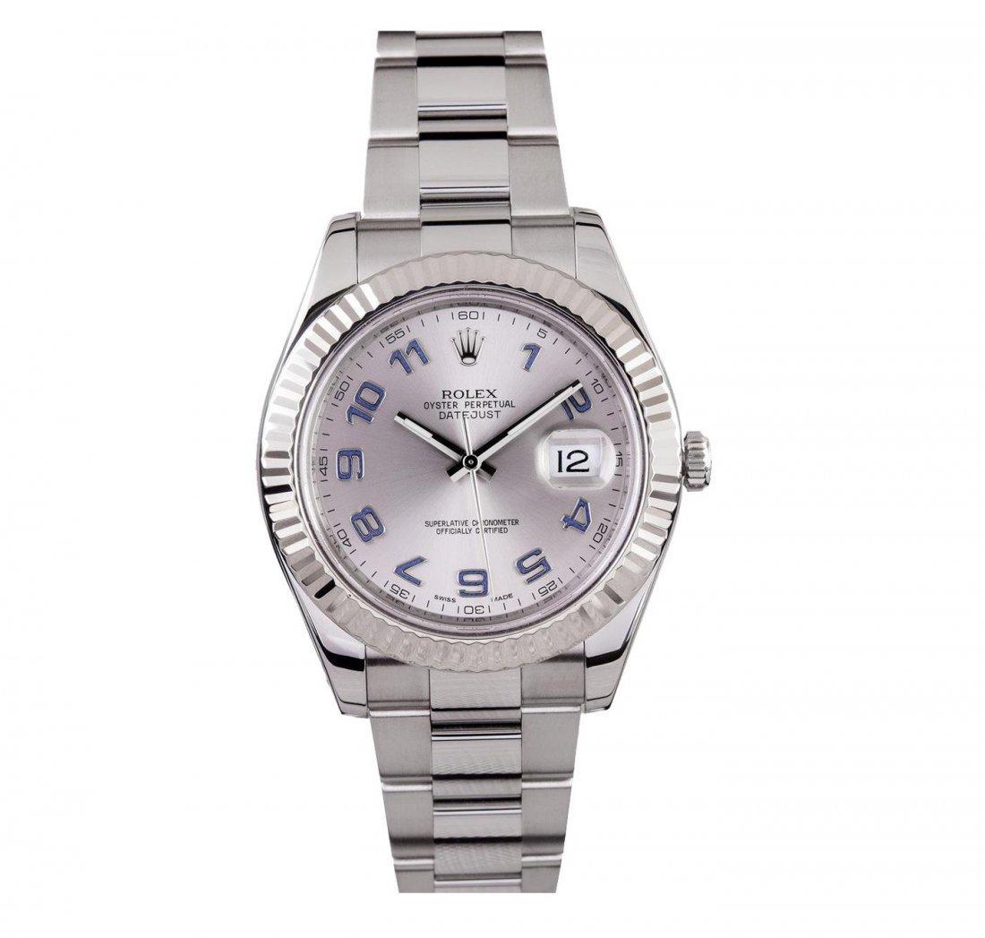 Gents Rolex Stainless Steel DateJust II Wristwatch