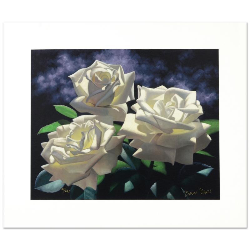 White Roses by Brian Davis