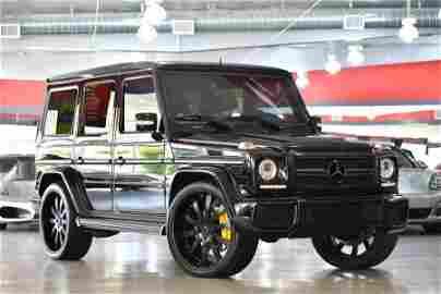 2010 Black Mercedes-Benz G-Class G55 AMG 4MATIC SUV
