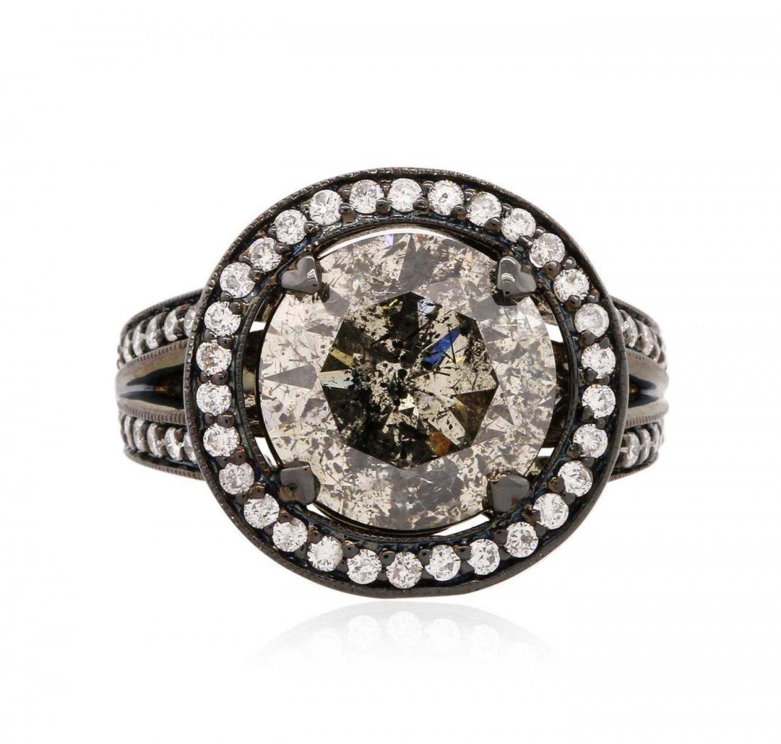 14KT White Gold 7.29 ctw Diamond Ring