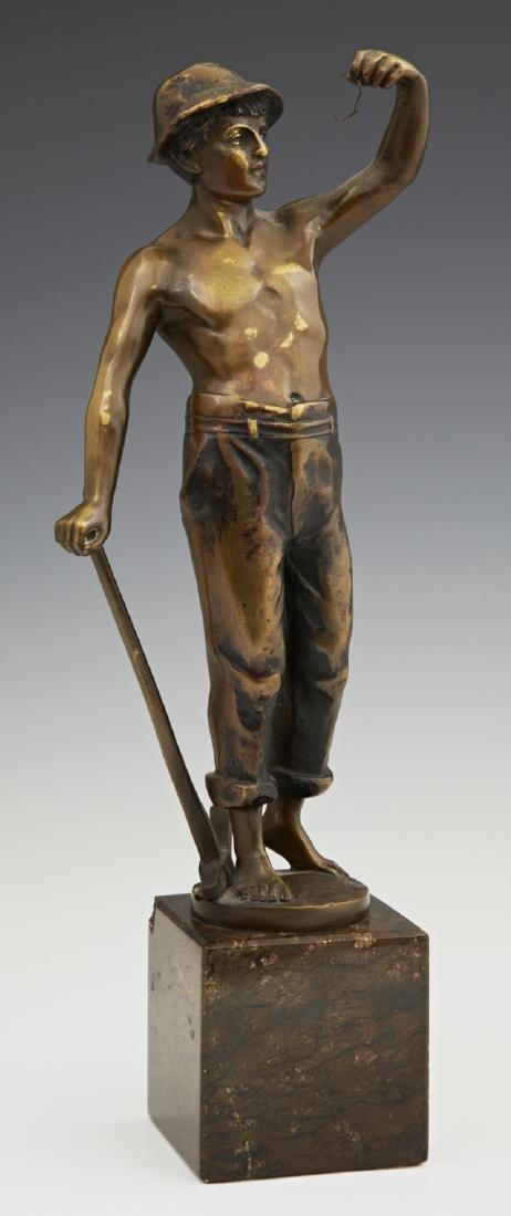 "Raphael Hubert (1884- ), ""Standing Figure of a Mine"