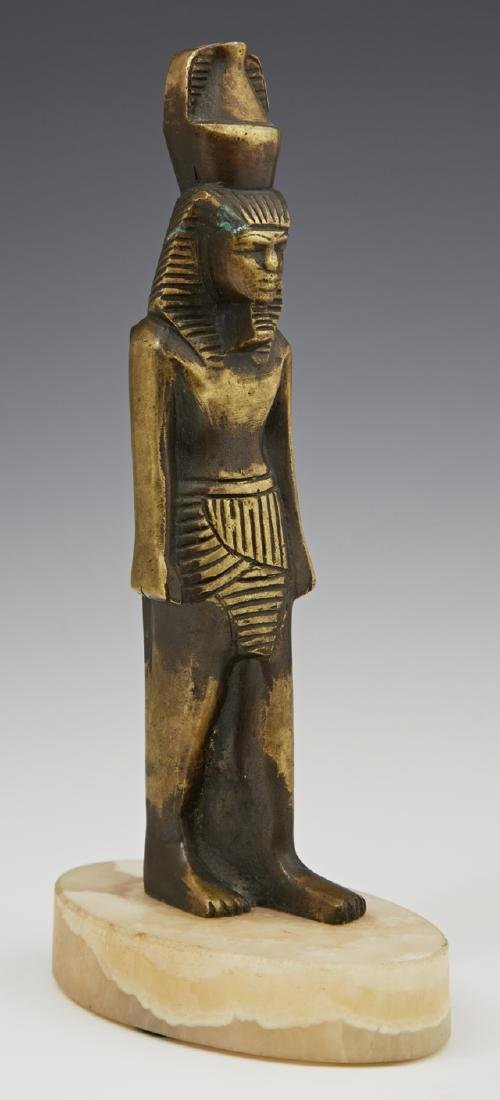 Bronze Egyptian Figure of the God Nefertum, early 20th
