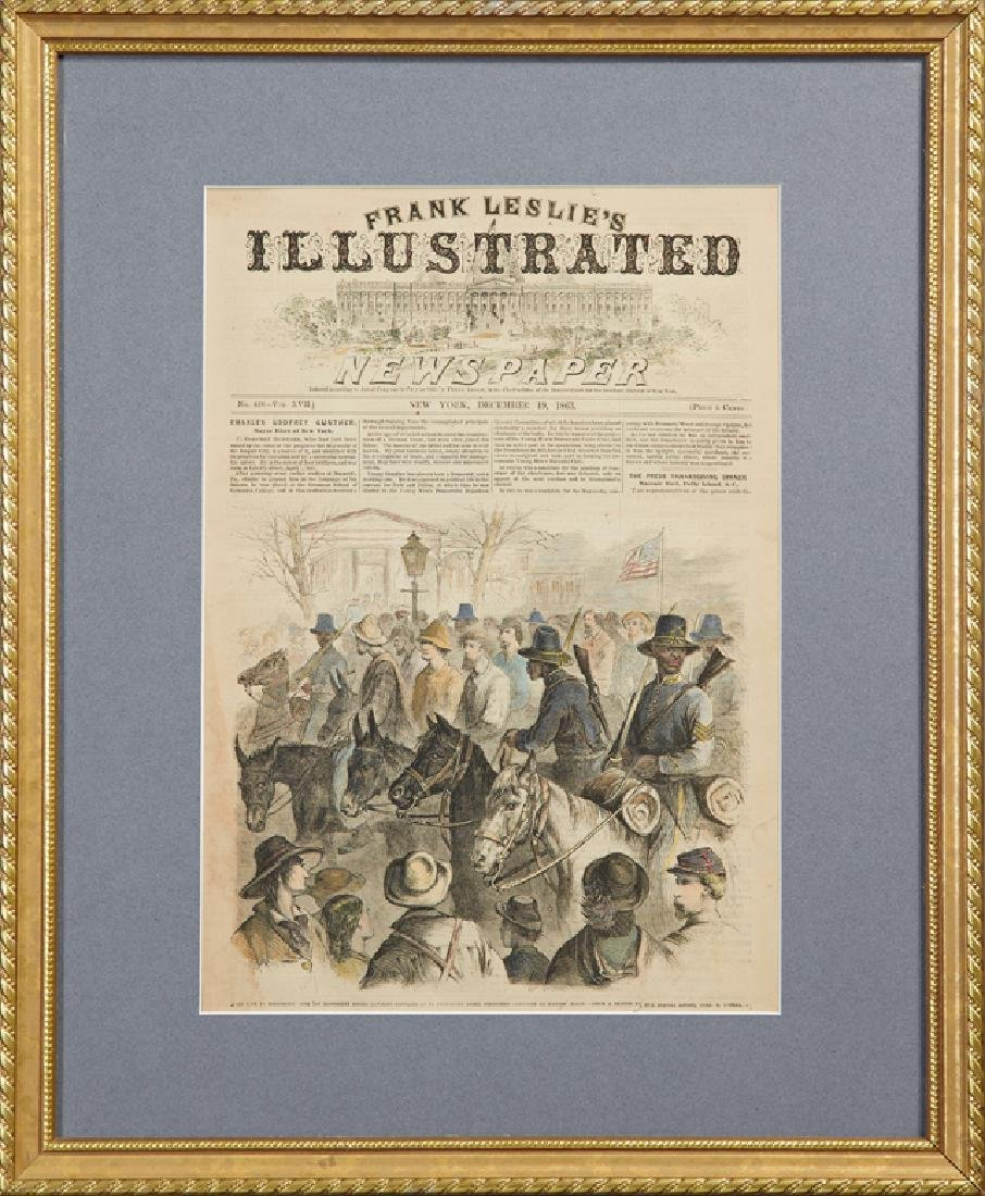 """""""The War in Mississippi - the First Mississippi Negro"""