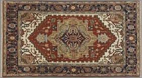 Agra Serapi Carpet, 4' x 6' 3